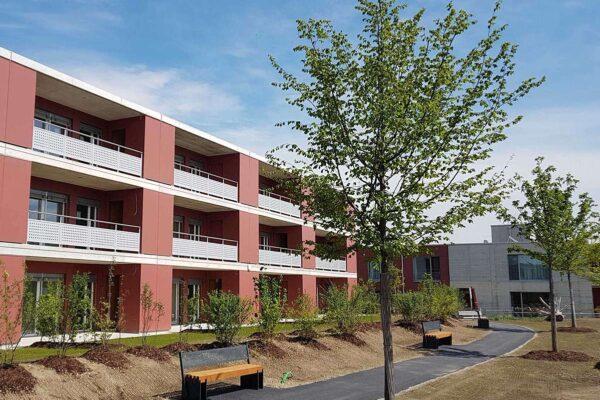 Neubau Alterswohnungen im Alterszentrum Münchwilen