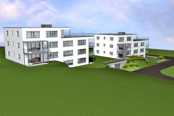 Neubau zwei MFH Brüelhalde, Sirnach