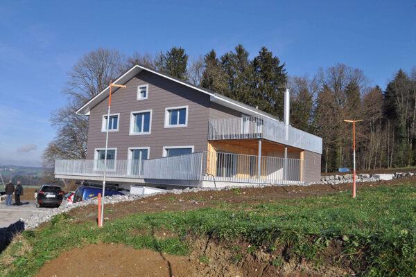 Neubau EFH mit Einliegerwohnung, Bettwiesen