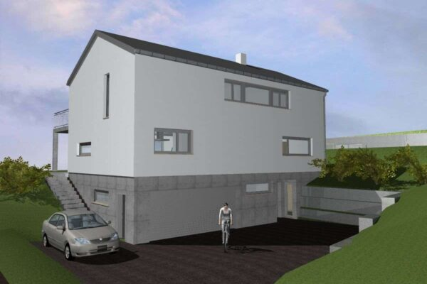 Neubau EFH Hochwiesenstrasse, Sirnach