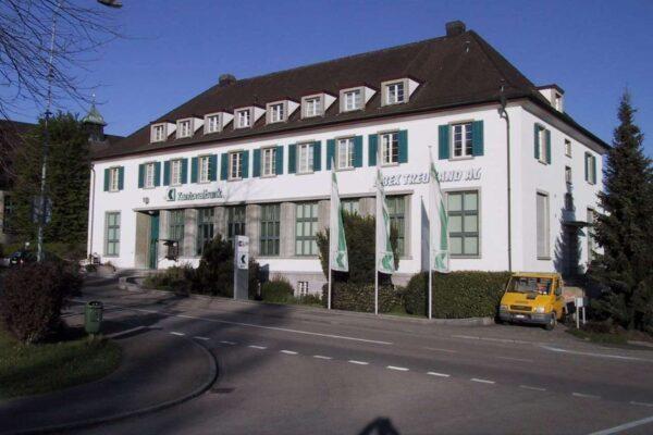 Thurgauer Kantonalbank Umbau Schalterhalle und Büro, Sirnach