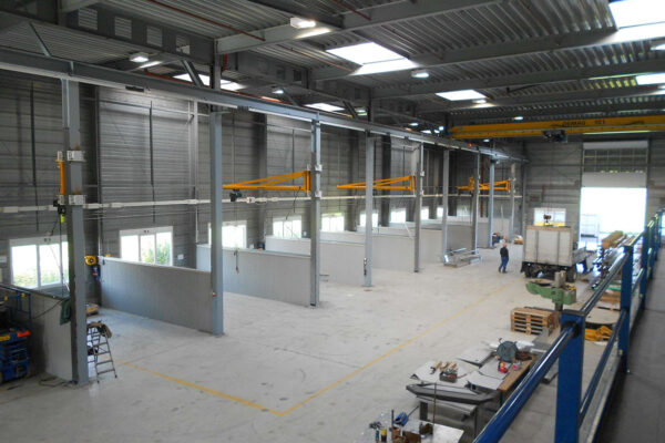 Umzug BERO Technik AG und Linox AG, Sirnach