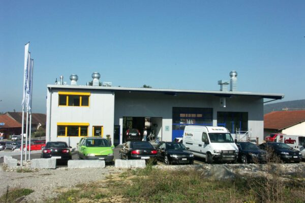 Neubau Autospritzwerk R. Mosberger GmbH, Sirnach