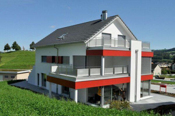 Um- und Neubau Liegenschaft in Bazenheid