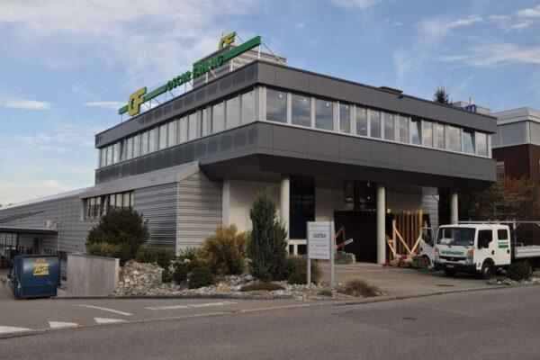 Gebäudehüllensanierung Oscar Fäh AG, Oberbüren