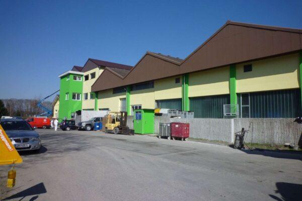 Gebäudehüllensanierung Bio Render AG, Münchwilen