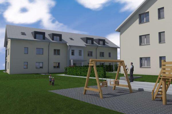 Neubau 2 MFH's Sattlerstrasse, Neuwilen