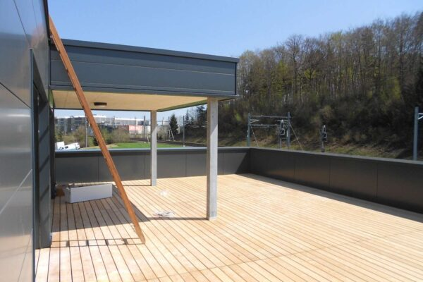 Neubau Schulungscenter, Gloten