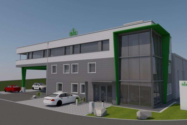 Erweiterung Lager- und Bürogebäude SIT (Schweiz) AG, Sirnach