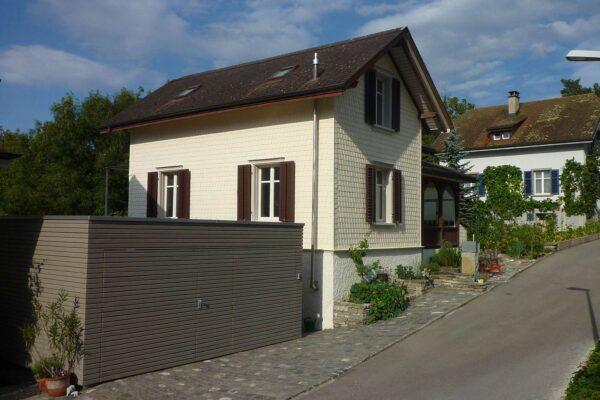 Umbau EFH / Garage mit Balkonanbau Staubeggstrasse, Frauenfeld
