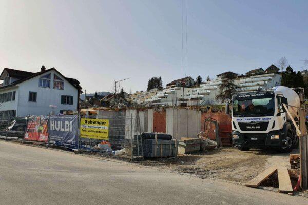 Neubau Alterswohnungen Stickereistrasse, Balterswil
