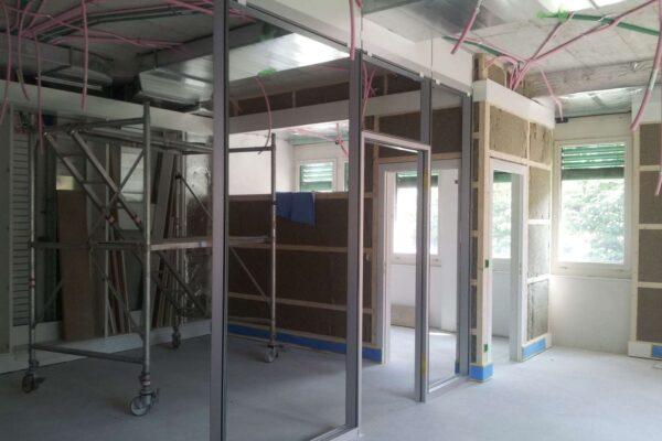 Umbau Innenbereich TKB Rickenbach