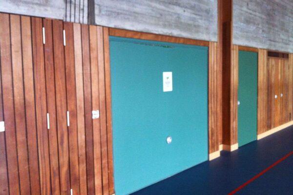 Innensanierung Turnhalle Grünau, Sirnach
