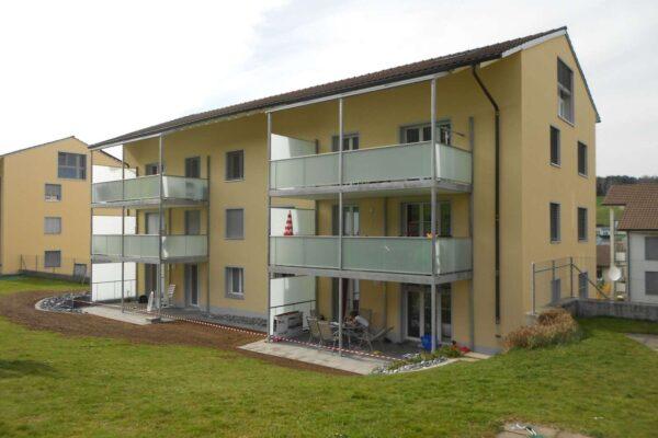 Gebäudehüllensanierung MFH Waldsiedlung 4, Balterswil