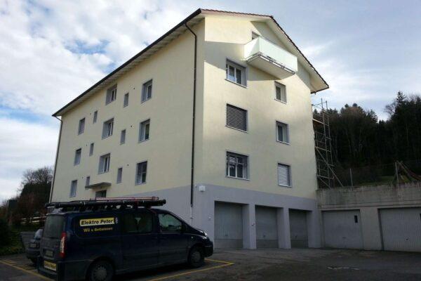 Gebäudehüllensanierung MFH Waldsiedlung 6, Balterswil