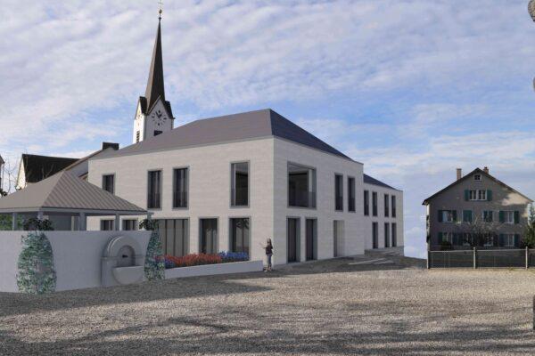 Wettbewerb Pfarrhaus Sirnach