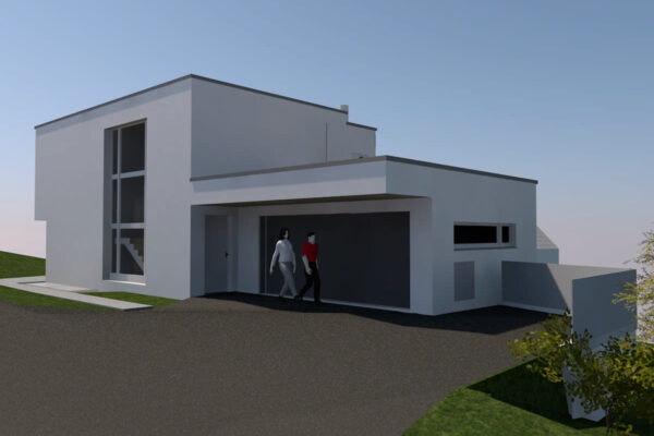 Neubau EFH Widenackerstrasse süd-ost, Wiezikon